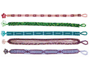 free seed bead patterns, bracelets, necklaces, earrings, bead loom