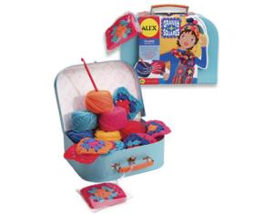 Granny Squares Crochet Kit For Kids Alex Kids Craft Kits At