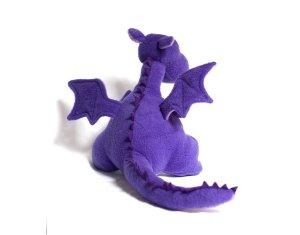 Purple Yoki The Dragon Sewing Kit Plush Animal Sewing